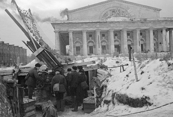 Ленинградская битва: 1941-1944